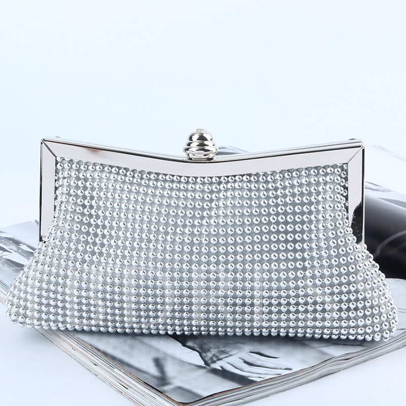 Banquet Rhinestone Clutches & Evening Bags