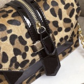 Leopard Chain PU Flap Cross Body Bags