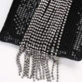 Rhinestone Rectangle Banquet Clutches & Evening Bags