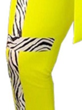 Color Block Casual Straight Women's Two Piece Sets