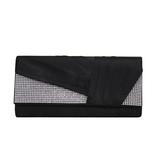 Versatile Rectangle Satin Clutches & Evening Bags
