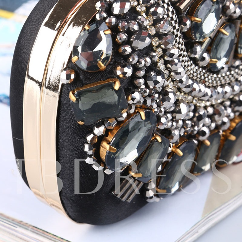 Flap Rhinestone Versatile Clutches & Evening Bags