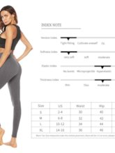 Cotton Blends Solid Breathable Four Seasons Female Yoga Pants