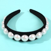 Pearl Inlaid European Hairband Hair Accessories