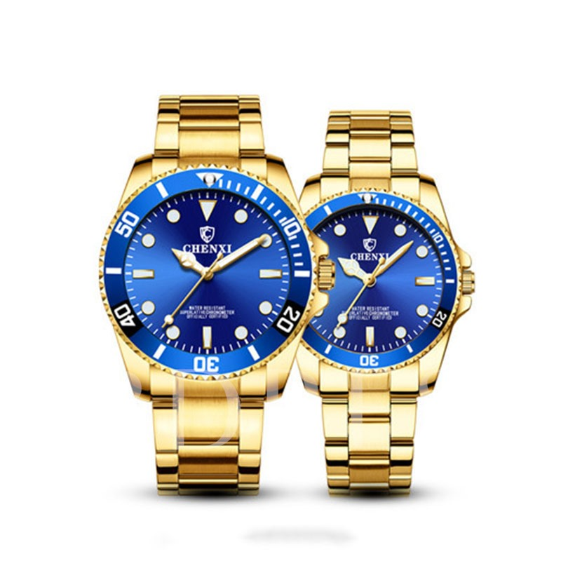 Quartz Hardlex Round Bilateral Buckle Men's Watches
