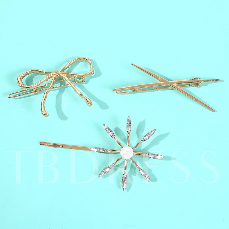 Barrette European E-Plating Hair Accessories