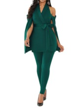Plain Sexy Full Length Slim Women's Jumpsuit