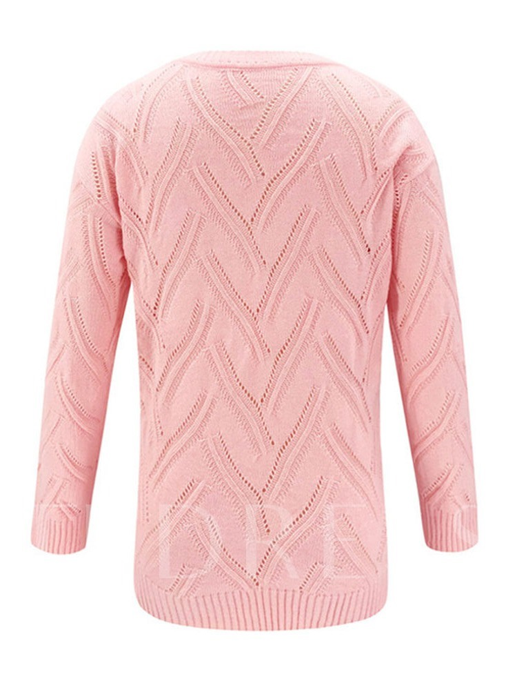 Regular Loose Long Sleeves Women's Sweater