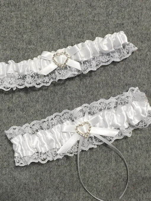 Bowknot Floral Lace Bridal Garters