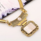 E-Plating Necklace Vintage Anniversary Jewelry Sets