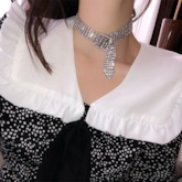 Diamante European Prom Choker Necklace