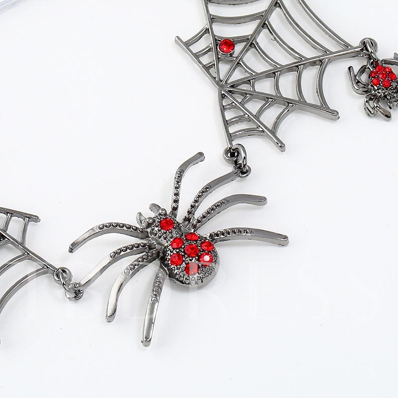 Halloween Diamante European Party Jewelry Sets