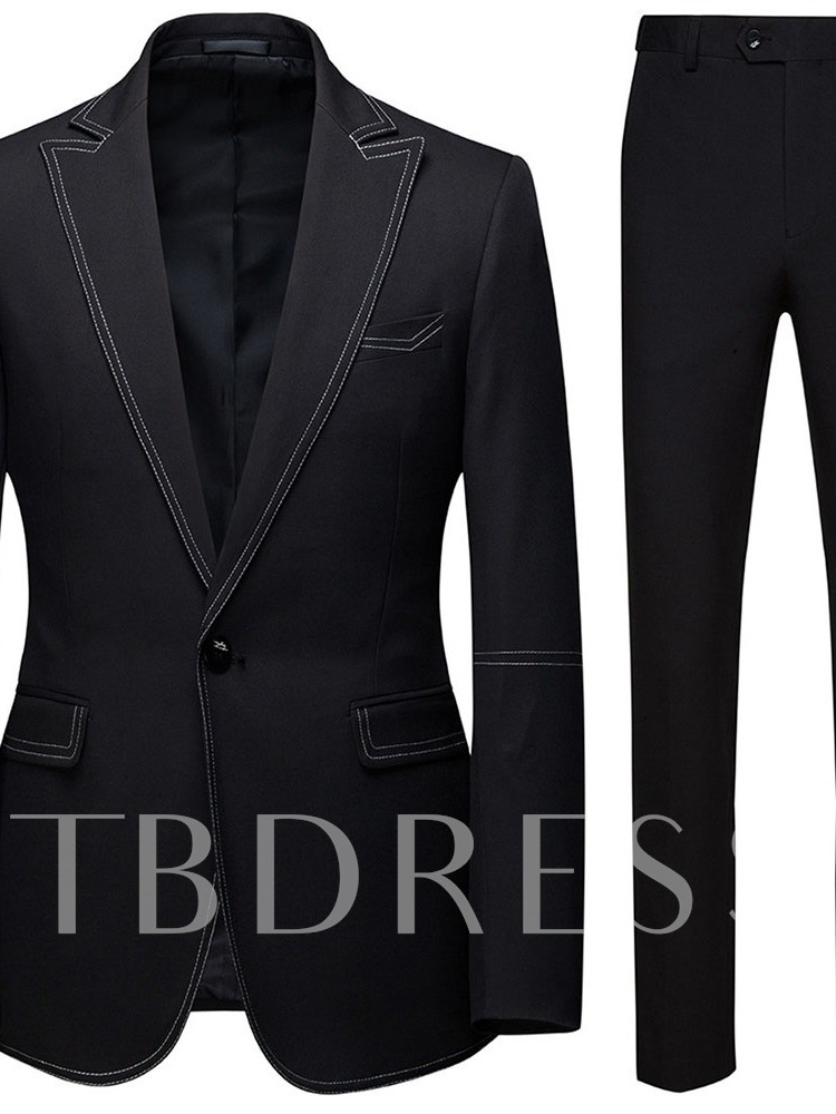 Blazer Button One Button European Men's Dress Suit