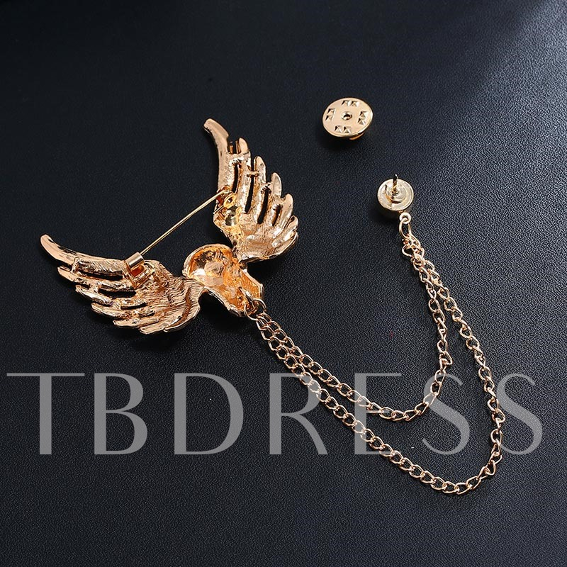 Halloween European Skeleton Alloy Brooches