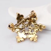 Christmas Snowflake Alloy Brooches