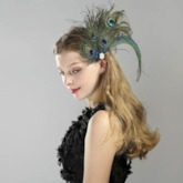 Head Flower Handmade Feather Party Hair Accessories