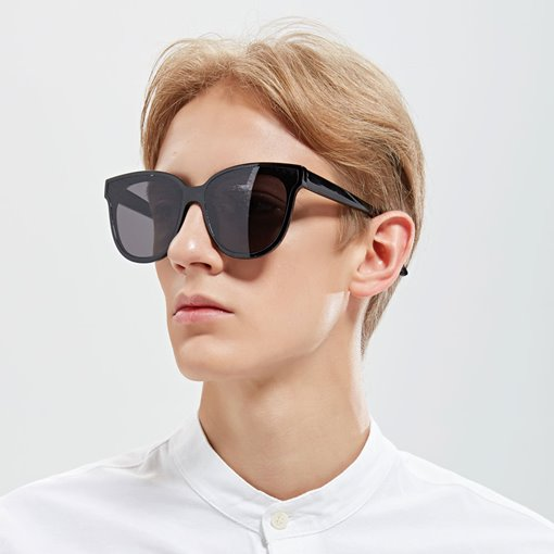 Fashion Wrap Poly Carbonate Unisex Sunglasses
