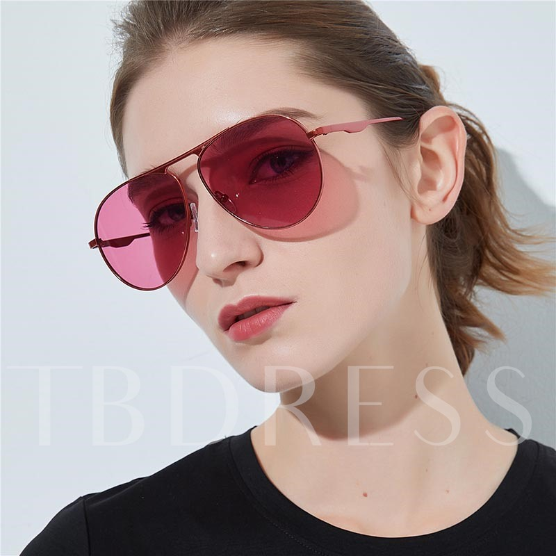 Resin Wrap Anti UV Vintage Sunglasses