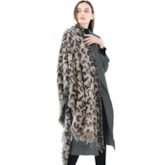 Imitation Cashmere Fashion Print Leopard Scarves
