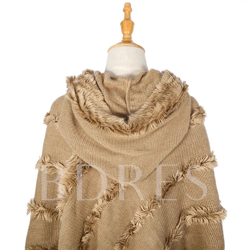 Imitation Cashmere Rough Selvedge Shawl Scarves