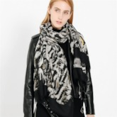 Fashion Scarf Polyester Leopard Scarves