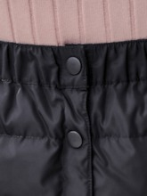 Plain A-Line Button Mid-Calf Casual Cotton Women's Cotton Skirt