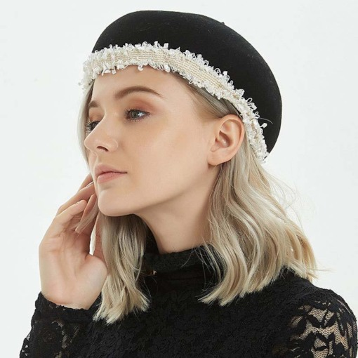 Sweet Wool Blends Dome Ladylike Women's Beret Hats