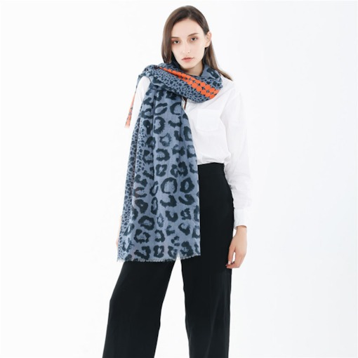 Fashion Tassel Scarf Leopard Women's Scarves