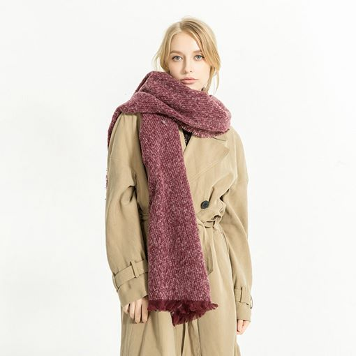 Casual Imitation Cashmere Women's Scarves
