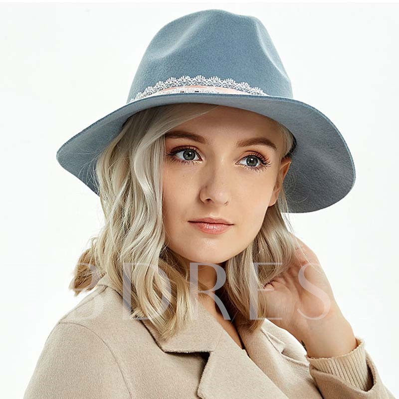 3D Sweet Cashmere Fedora Hat