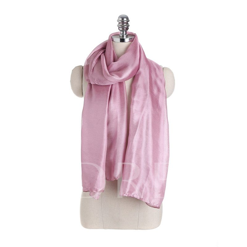 Polyester Simple Plain Women's Scarves