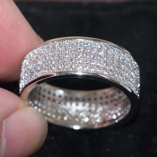 European Diamante Gift Rings