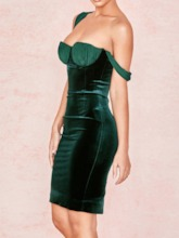 Sleeveless Above Knee Bodycon Women's Party Dress