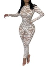 African Fashion Full Length Skinny Women's Jumpsuit