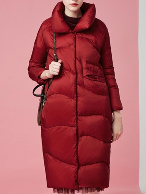 Thick Loose Long Women's Cotton Padded Jacket