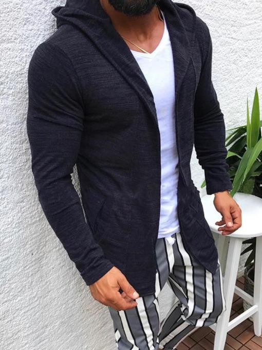 Cardigan Casual Men's Hoodies