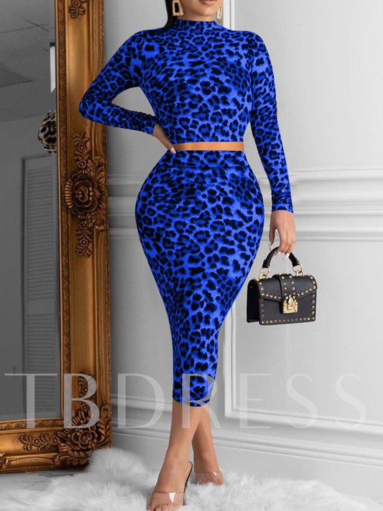 Elegant Casual Color Block Stand Collar Women's Two Piece Sets