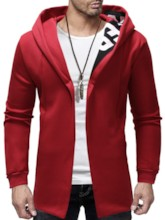 Cardigan Thick Patchwork Casual Men's Hoodies
