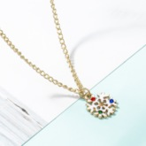 Christmas Diamante European Necklace Party Jewelry Sets