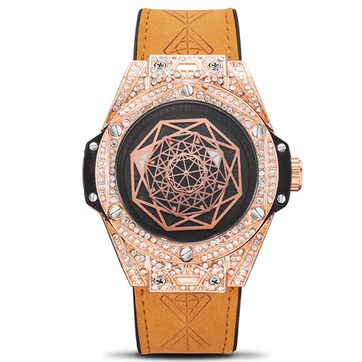 Round Luminous Hardlex Women's Watches