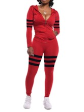 Western Color Block Casual Women's Two Piece Sets