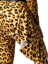 Full Length Casual Leopard High Waist Women's Jumpsuit