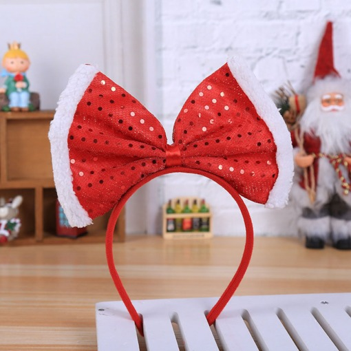Christmas Hairband European Handmade Birthday Hair Accessories