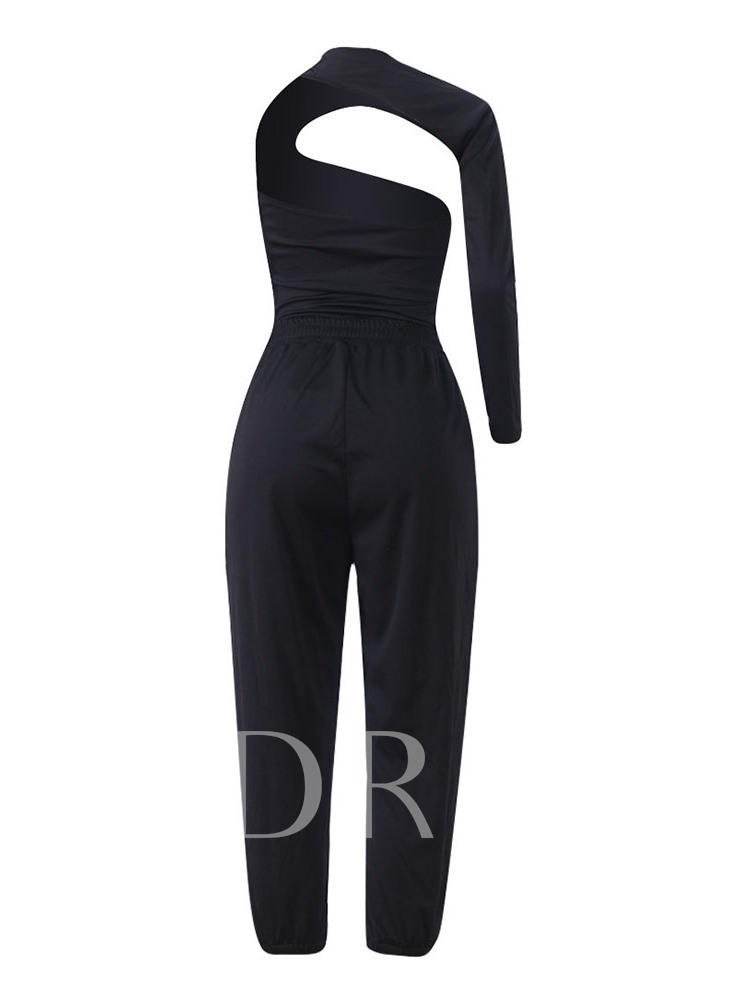 Casual Plain Mid-Calf Sexy Women's Two Piece Sets