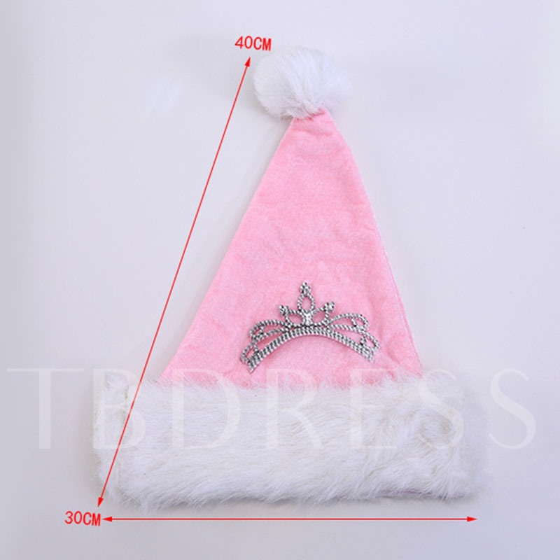 Christmas Decoration Pink Hat
