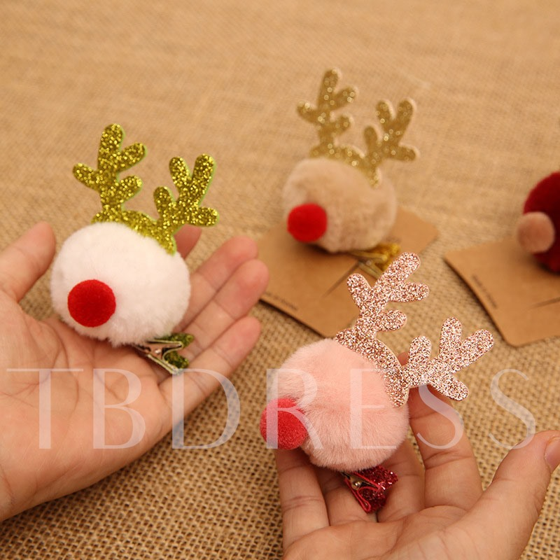Christmas Sweet Barrette Prom Hair Accessories