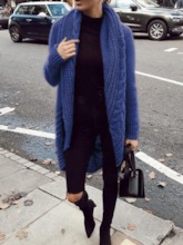 Thin Wrapped Regular Loose Women's Sweater