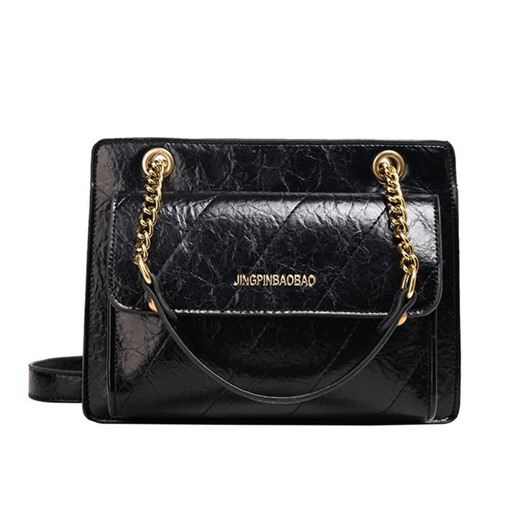 Elegant Chain PU Rectangle Shoulder Bags