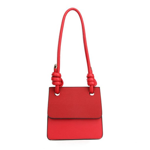 Plain PU Thread Rectangle Shoulder Bags
