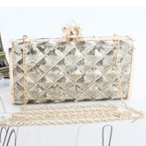 Rectangle Banquet Hard Clutches & Evening Bags